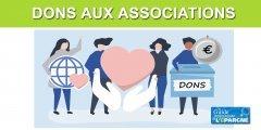 Dons aux associations