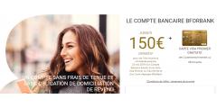 BforBank : jusqu'à 150€ offerts pour les nouveaux clients, à saisir avant le 23 mai 2019