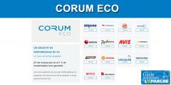 Prêt aux grandes entreprises : CORUM ECO dépasse son objectif de rendement de plus de +36% pour sa première année