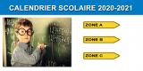 Calendrier scolaire 2020-2021