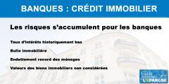 Crédit immobilier : nouvelle alerte émise par l'ACPR, les crédits octroyés ne tiennent pas compte de la valeur des biens financés