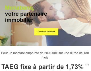 Banque en ligne : Monabanq propose le Prêt à Taux Zéro avec son offre de crédit immobilier