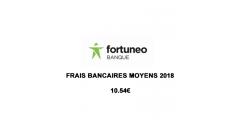 Frais bancaires : les clients Fortuneo ont payé 10.54€ de frais en moyenne en 2018