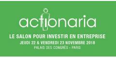 Salon Actionaria, 21e édition, les 22 et 23 novembre 2018, sous le signe de l'investissement responsable