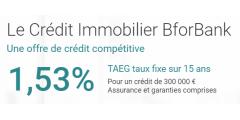 BforBank lance son offre de crédit immobilier, TAEG de 1.53%
