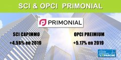 Primonial confirme les bonnes performances 2019 de la SCI Capimmo (4.56%) et de l'OPCI PREIMIUM (5.17%)