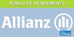 Assurance-vie Allianz : bonus de rendements 2020, jusqu'à +0.70% sur le fonds euros