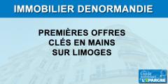 Investissement immobilier Denormandie : des premières offres clés en mains à Limoges