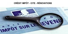 Crédit impôt CITE - rénovations (impôt 2019) : comment déclarer ? Quelles cases utiliser ?