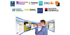 Banques en ligne : mention peut mieux faire pour les sites bancaires (satisfaction 6/10), les applis mobiles toujours autant délaissées