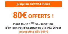 ING Direct Vie proposera le fonds euros Netissima dés début 2015