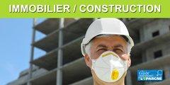 Immobilier/construction : les mesures de protection sanitaire feraient perdre de 25% à 30% de productivité