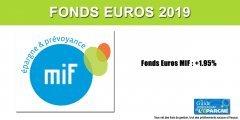 Assurance-Vie : La MIF publie un taux 2019 de +1.95% sur son fonds euros