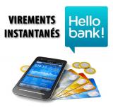 Banque en ligne : les virements bancaires instantanés disponibles chez Hello Bank le 15 avril 2019