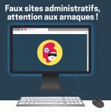 Faux sites administratifs : 1 million de Français tombent dans le panneau chaque année