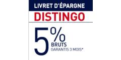 PSA Banque (livret Distingo) : un taux boosté de 5%, applicable jusqu'à 100 000€ de versement !