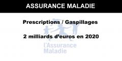 Assurance maladie : un plan anti-gaspillage visant 2 milliards d'euros d'économies pour l'an prochain