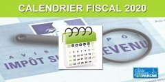 Calendrier fiscal 2020