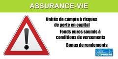 Assurance-Vie : pousser les épargnants à investir sur des unités de compte, le régulateur rappelle les devoirs de conseils, après le krach