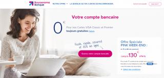 Boursorama banque : jusqu'à 130€ offerts, uniquement jusqu'au lundi 20 mai 2019 à minuit