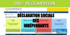 Indépendants (DSI) : date limite de déclaration de vos revenus 2019