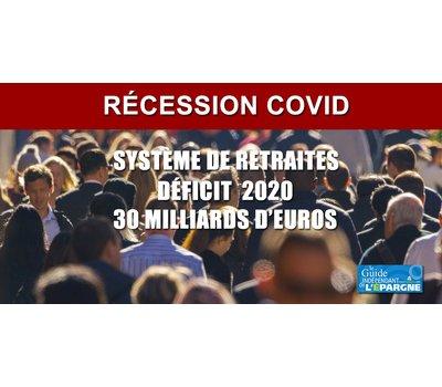 Retraites : le déficit estimé pour 2020 serait multiplié par 7, impact de la récession COVID