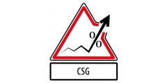 CSG : Taux et barèmes, CSG déductible