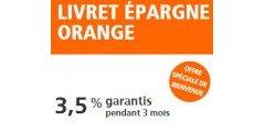 Livret Epargne Orange : Nouvelle offre à 3,50%, jusqu'à 150 000 € de versement