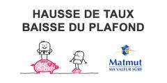 Livret épargne Matmut, hausse de taux au 1er mai 2019 : au final, une mauvaise nouvelle pour les épargnants