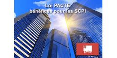 La loi PACTE élargit le champ des possibles pour les SCPI : panneaux photovoltaïques, espaces de coworking, SCI de SCI...