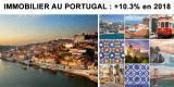 Immobilier résidentiel au Portugal : les prix ont de nouveau grimpé de +10.30% en 2018
