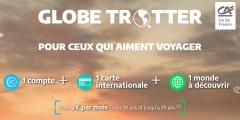 Étudiants au Canada : l'offre Globe-Trotter du Crédit Agricole Ile-de-France accessible également aux Canadiens
