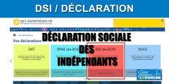 DSI : déclaration des revenus des indépendants, à effectuer avant le 30 juin 2020