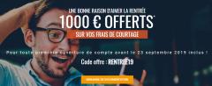Bourse Direct : jusqu'à 1.000€ offerts à saisir avant le 23 septembre 2019, sous conditions