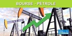Une folle journée boursière, avec un rebond de +30% des cours du pétrole en séance