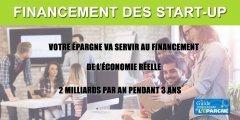 Assurance-vie/épargne retraite : une partie de votre épargne sera investie dans les start-up françaises