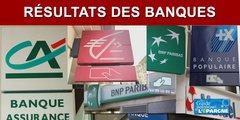 Résultats comparés des banques (BNP, Banque Populaire, Caisse d'épargne, Crédit Agricole, Société Générale) au 1er trimestre 2020