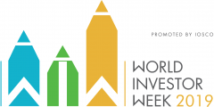 Semaine mondiale de l'investissement (World Investor Week) du 30 septembre au 6 octobre 2019