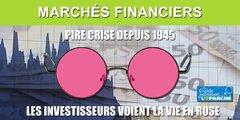Avis de lunettes roses sur les places financières, la bulle reprend de plus belle