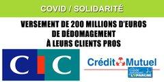 CIC et Crédit Mutuel : 200 millions d'euros de dédommagement versés, même avec une assurance perte d'exploitation non applicable
