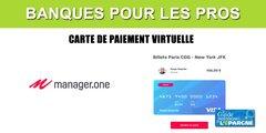 Manager.one : un nombre illimité de cartes de paiement virtuelles, totalement configurables, incluses dans le forfait