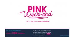 Opération Pink Week-End chez Boursorama banque : jusqu'à 130€ offerts pour l'ouverture de votre compte courant