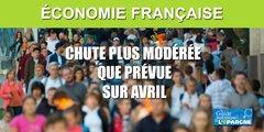 L'économie française se serait moins effondrée qu'anticipé, en avril, selon la Banque de France