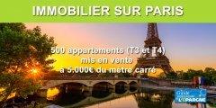 Immobilier sur Paris : des appartements à moitié prix dès 2022, mais pas pour vous !