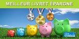 Livret épargne : meilleur rendement net annuel en Avril 2020