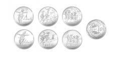Monnaie de Paris : 8 nouvelles monnaies or et argent, dessinées par Sempé, une collection maintenant complète