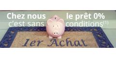 Crédit immobilier à 0% (sans condition, hors PTZ) pour les primo-accédants d'Ile de France jusqu'à fin 2018 !