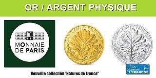 Or et Argent : nouvelle collection Monnaie de Paris, Natures de France
