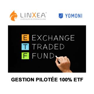Gestion pilotée 100% ETF : Yomoni équipe les contrats Linxea Spirit et Linxea Spirit Capitalisation