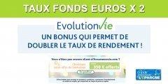 Assurance Vie Evolution Vie : offre Avia Multi bonus 2020, multipliez par 2 le taux de rendement de votre fonds euros !